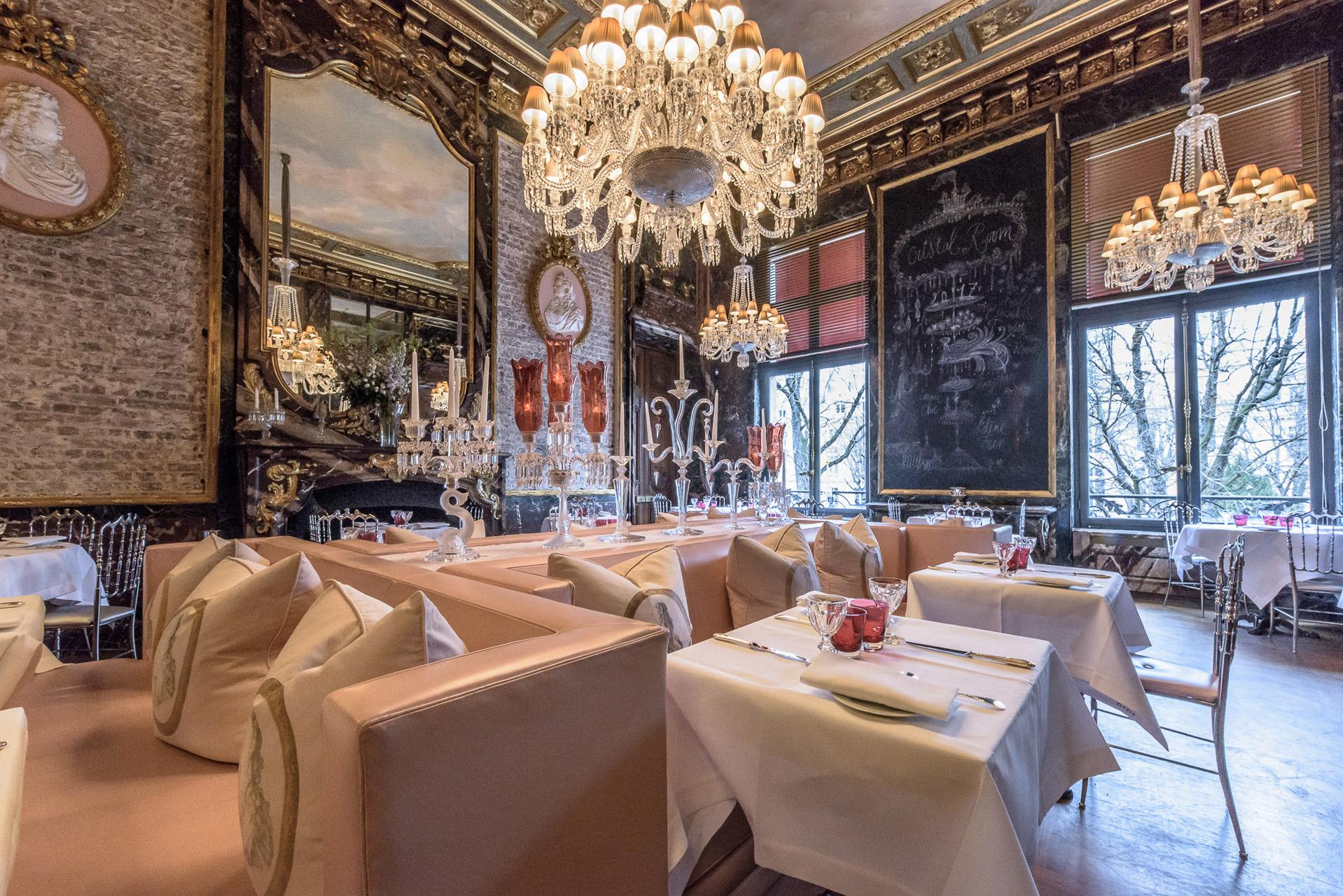 Cristal room restaurant soir e r ception conf rence - La maison du cristal ...
